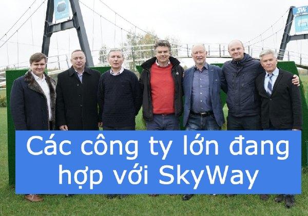 Các công ty lớn đang hợp với SkyWay việc xây dựng tại UAE