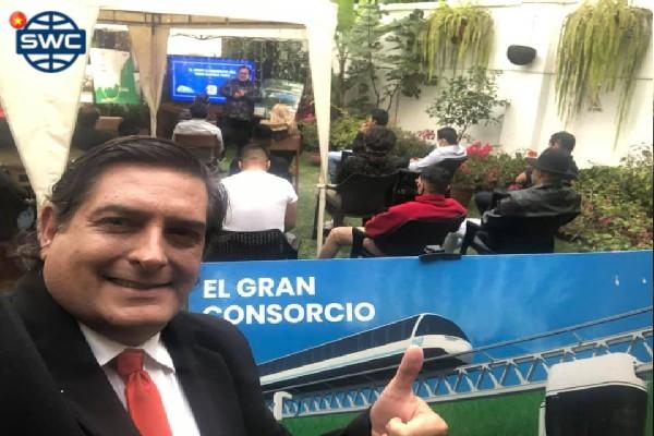 Chính trị gia PERU quảng cáo mong muốn sử dụng cộng nghệ SkyWay
