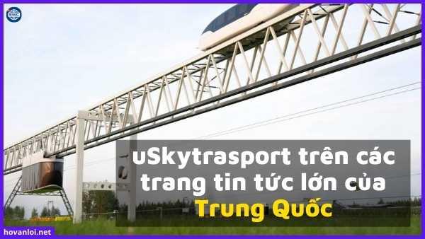 uSkytrasport trên các trang tin tức lớn của Trung Quốc