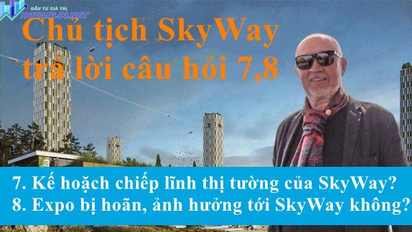 Anatony Unitsky trả lời câu hỏi 7,8  của nhà đầu tư SkyWay