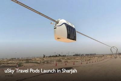 Tạp trí nổi tiếng của khu vực LB Nga thông tin về SkyWay tại UAE | uSky Travel Pods ra mắt tại Sharjah