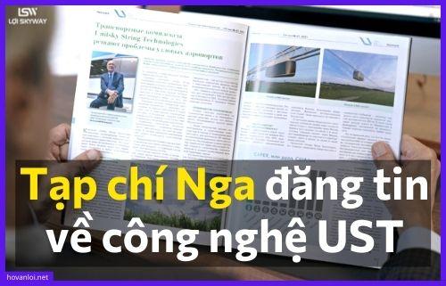 Tạp chí Nga đăng tin về công nghệ UST- Unitsky String Technologies