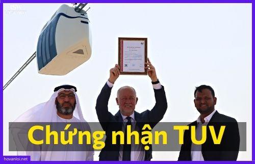Công nghệ SkyWay được chứng nhận TUV SW