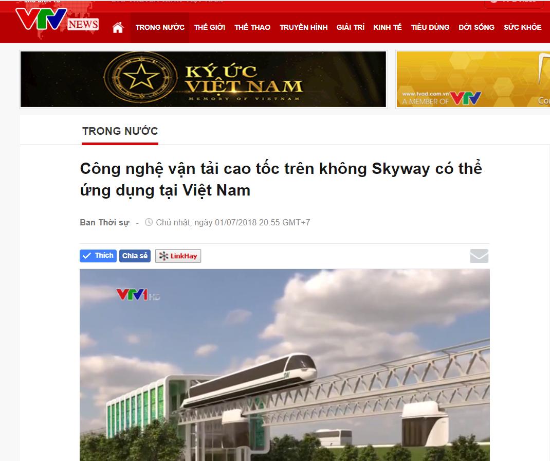 ✅ SKY WAY  - Các kênh truyền hình , báo trí, thông tin đại chúng tại Việt Nam đã nói gì về Sky Way???