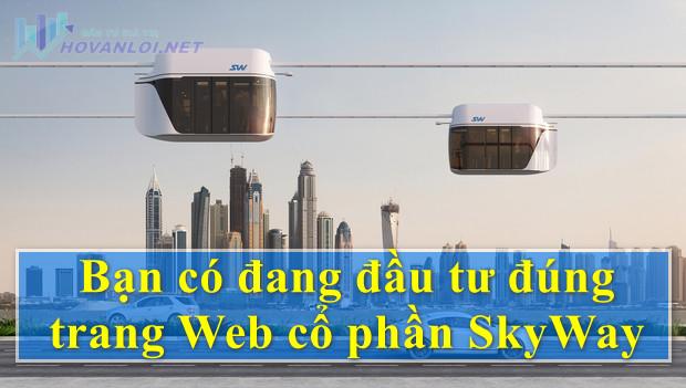 SkyWay IPO - SkyWay Capital đầu tư có đúng trang website và mua đúng cổ phần của SkyWay hay không?