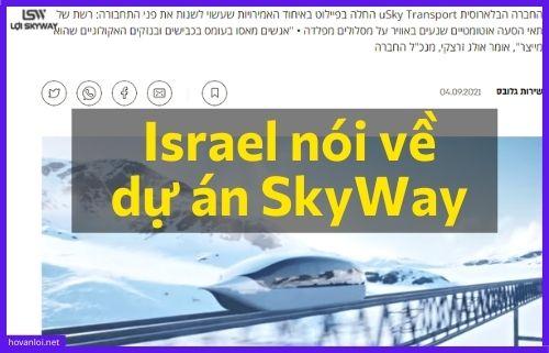Truyền thông của Israel nói về dự án SkyWay