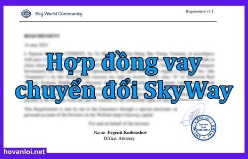 Hợp đồng vay chuyển đổi Skyway như thế nào?