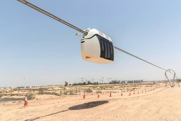 Bầu trời của Sharjah đưa bạn qua thành phố với tốc độ 120 km / h