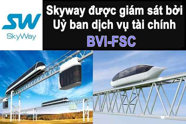 ✅SkyWay -  Được giám sát bởi và cấp phép và định giá bởi Ủy Ban Dịch Vụ Tài Chính BVI-FSC
