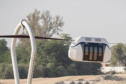 Sharjah mở mạng sky pod tốc độ cao đầu tiên của UAE