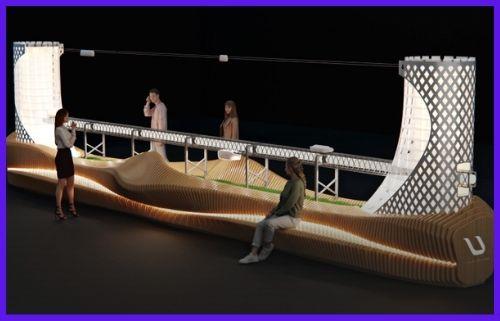 Cách bố trí của thành phố tuyến tính UST hoạt động như thế nào? Chuẩn bị cho Expo 2020?