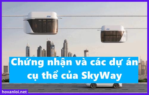 Tạp chí Auto Futures nói về việc chứng nhận và các dự án cụ thể của SkyWay