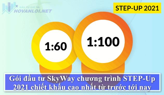 Cơ hội có 1 không 2 : Đề xuất đầu tư SkyWay «STEP-UP 2021» với chiết khấu tới 1:100