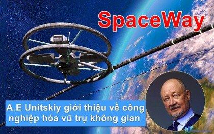 SpaceWay | Anatony Unitskiy giới thiệu về công nghiệp hóa vũ trụ không gian