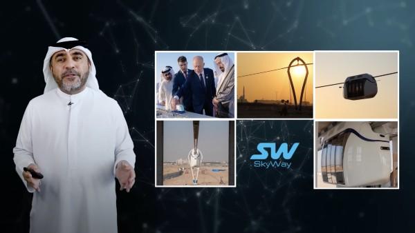 Shjrjah mở mạng Sky Pods tốc độ cao đầu tiên của UAE